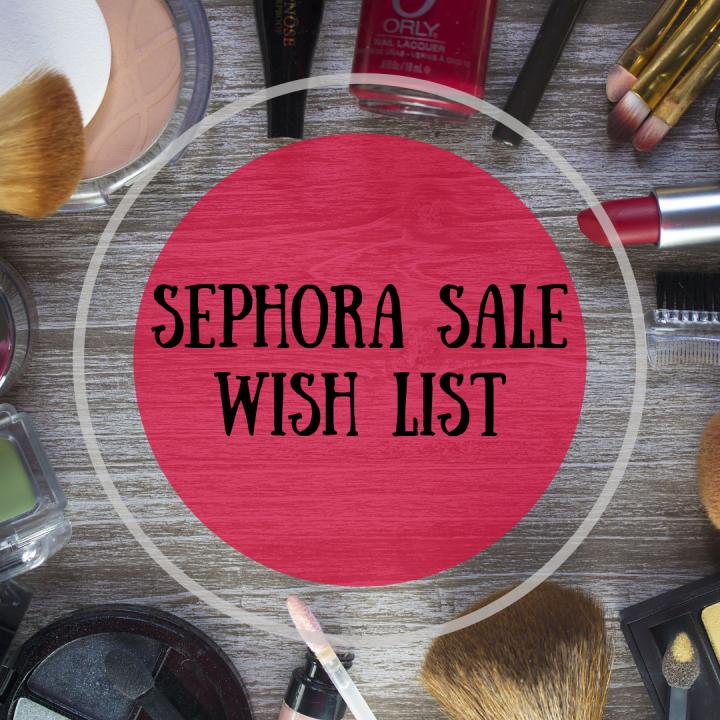 Sephora VIB Rouge SaleWish-List
