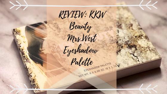 REVIEW: KKW Beauty -Mrs. West EyeshadowPalette